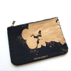 Exclusive Cynthia Rowley Gilded Makeup Bag